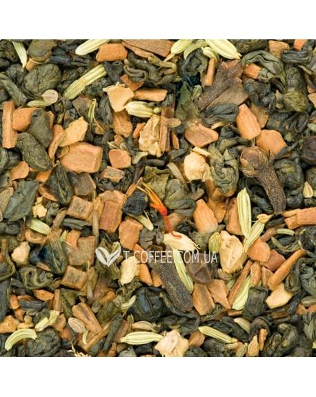 Зеленый с Восточными Пряностями зеленый ароматизированный чай Країна Чаювання 100 г ф/п
