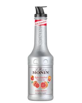 Фруктове пюре MONIN Ruby Grapefruit Рожевий Грейпфрут 1 л
