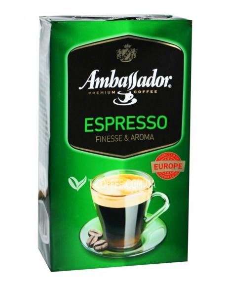 Кофе Ambassador Espresso молотый 250 г (8719325127126)