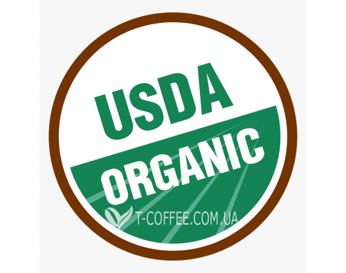 Сертификат USDA Organic Label