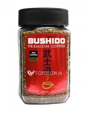 Кофе Bushido Red Katana растворимый 100 г ст. б. (7610121710295)