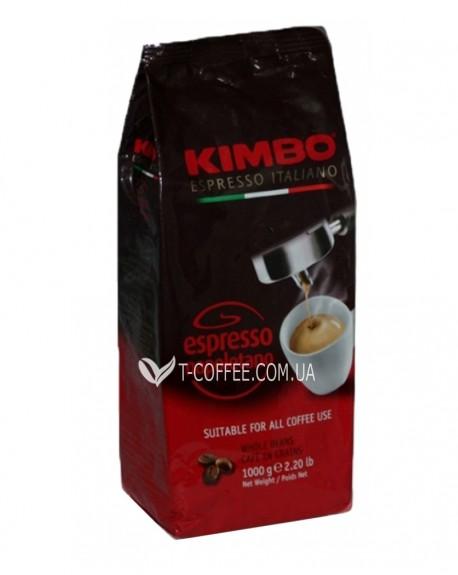 Кофе KIMBO Espresso Napoletano зерновой 1 кг (8002200101688)