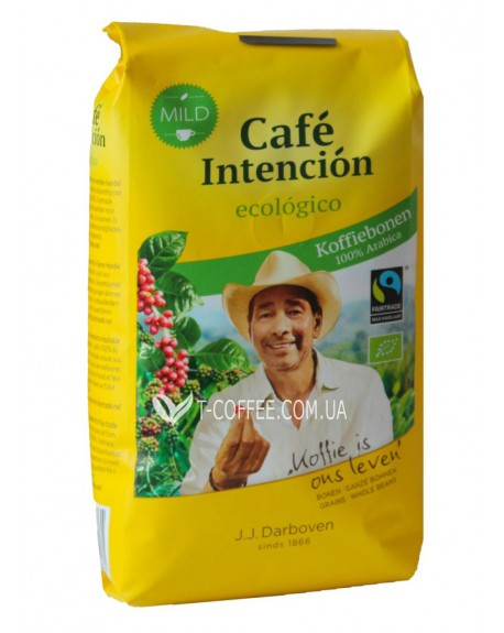 Кофе JJ DARBOVEN Cafe Intencion Ecologico Cafe Crema зерновой 500 г (4006581020761)