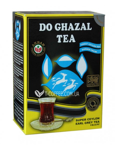 Чай AKBAR Do Ghazal Super Ceylon Earl Grey Tea 100 г к/п (4796015724364)
