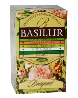 Чай BASILUR Assorted Green Tea Асорті - Букет 25 х 1,32 г (4792252001121)