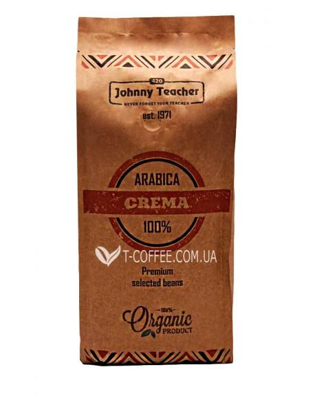 Кофе Johnny Teacher Crema зерновой 1 кг (4820211000011)