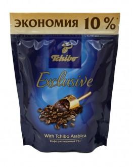 Кава TCHIBO Exclusive розчинна 75 г економ. пак. (4607066401862)