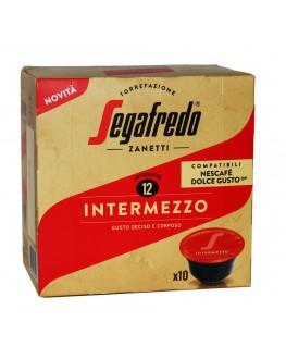 Кофе SEGAFREDO Dolce Gusto Intermezzo в капсулах 10 х 7,5 г (8003410243540)