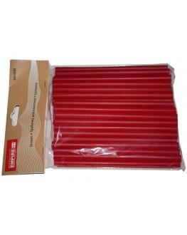 Трубочки для напоїв червоні, 100 шт. (8903138002149)