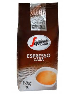 Кофе SEGAFREDO Espresso Casa Crema зерновой 1 кг (8003410311942)