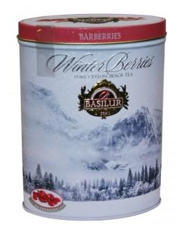 Чай BASILUR Barberries Барбарис - Зимові Ягоди 100 г ж/б (4792252938762)