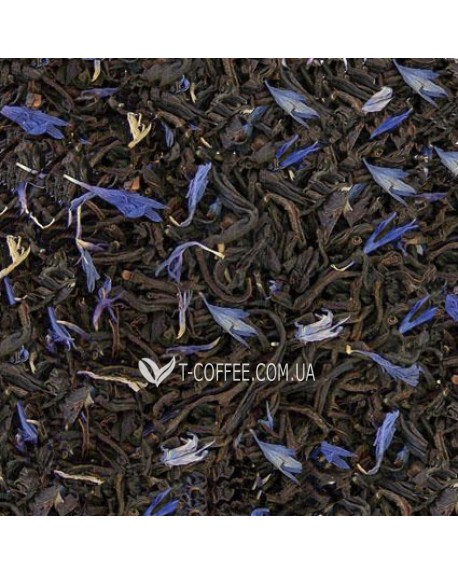 Граф Грэй Голубой Цветок черный ароматизированный чай Світ чаю