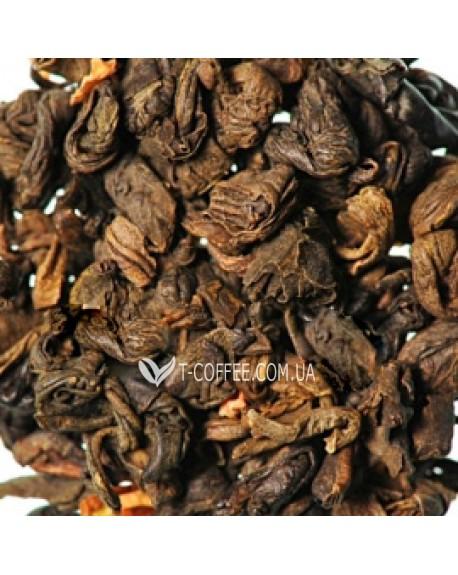 Китайский Лимонник зеленый ароматизированный чай Країна Чаювання 100 г ф/п