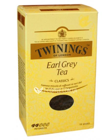 Чай TWININGS Earl Grey Tea Эрл Грей 100 г к/п