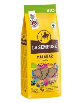 Кофе LA SEMEUSE Malabar India Bio зерновой 500 г