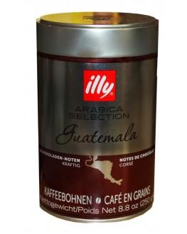 Кофе ILLY Guatemala Arabica Selection зерновой 250 г ж/б (8003753970073)