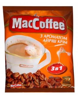 Кофе MACCOFFEE 3в1 Irish Cream Ирландский Крем растворимый 20 х 18 г эконом.пак. (8887290109857)