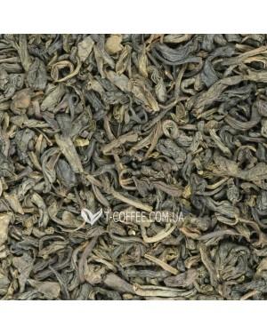 Зеленый с Женьшенем зеленый ароматизированный чай Чайна Країна - Елисейские Поля 100 г ф/п