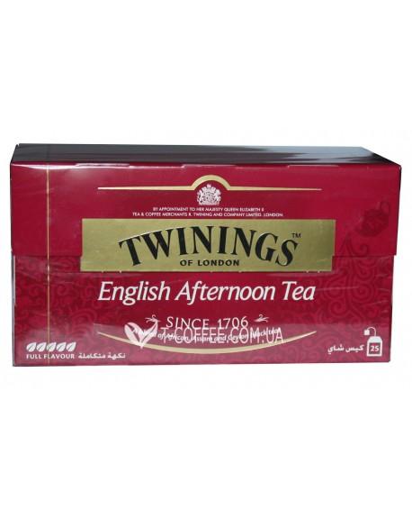 Чай TWININGS English Afternoon Tea Английский Ланч 25 х 2 г (070177074609)