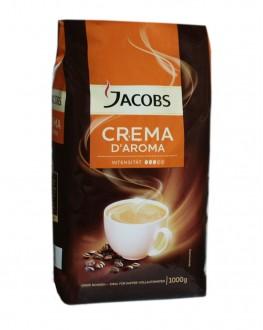 Кофе JACOBS Crema D'Aroma зерновой 1 кг