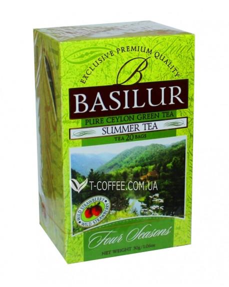 Чай BASILUR Summer Tea Летний - Времена Года 20 х 1,5 г (4792252915770)