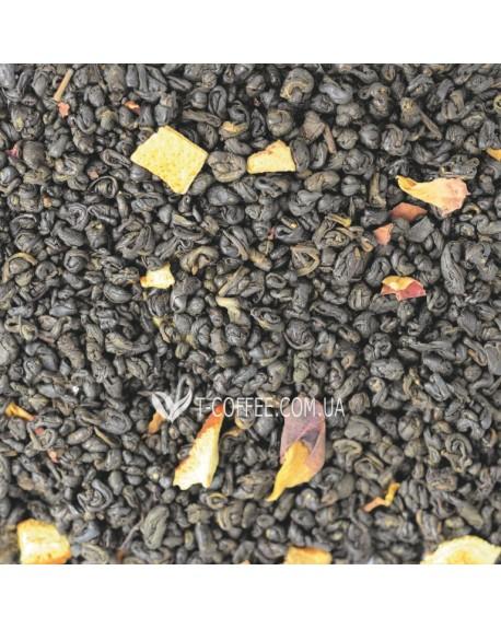 Сокровища Султана зеленый ароматизированный чай Світ чаю