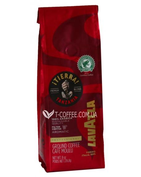 Кофе Lavazza Tierra Tanzania молотый 227 г (8000070052789)