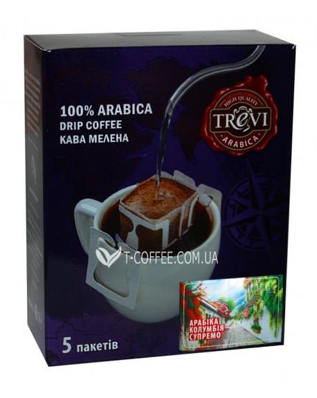 Кофе Trevi Арабика Колумбия Супремо 5 х 8 г дрип-пакет (4820140051023)