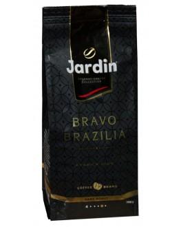 Кава JARDIN Gourmet Bravo Brazilia 100% Arabica зернова 1 кг (4823096806532)