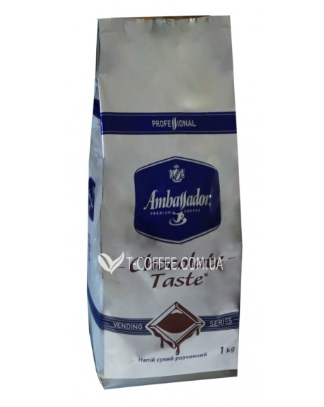 Горячий шоколад Ambassador Chocolate Taste 1 кг (8718868141101)