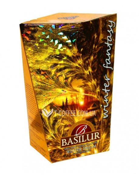 Чай BASILUR Winter Dream Зимняя Мечта - Зимняя Фантазия 85 г к/п (4792252932777)