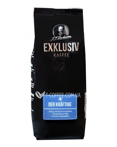 Кофе JJ DARBOVEN Exklusiv Kaffee Krаftige зерновой 250 г (4006581019550)