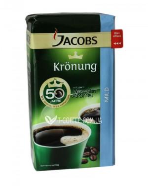 Кофе Jacobs Kronung Mild молотый 500 г (4000508002830)