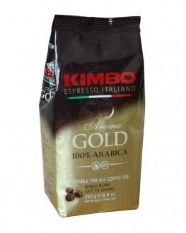 Кава KIMBO Aroma Gold 100% Arabica зернова 250 г (8002200102135)