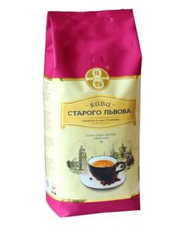 Кофе КАВА СТАРОГО ЛЬВОВА Люксова зерновой 1 кг (4820000371599)