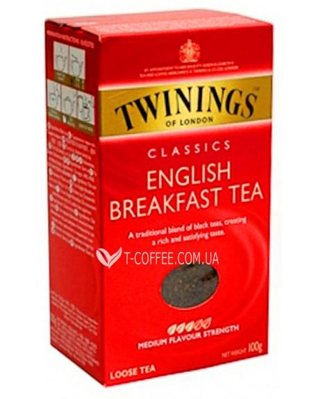 Чай TWININGS English Breakfast Английский Завтрак 200 г к/п