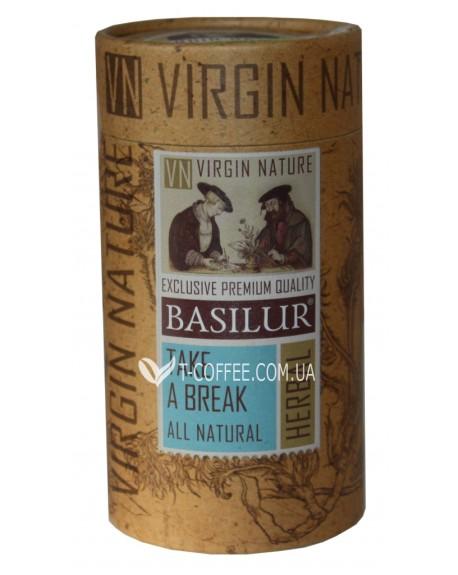 Чай BASILUR Take a Break Отдых - Природная 20 х 1,2 г тубус (4792252932210)