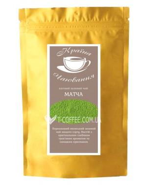 Матча Зеленый зеленый элитный чай Країна Чаювання 100 г ф/п