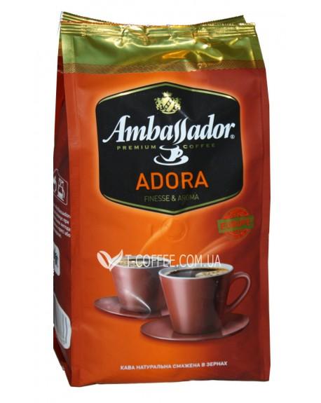 Зерновой кофе Амбассадор Адора фото