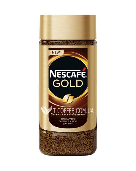 Кофе Nescafe Gold цельнозерновой растворимый 190 г ст. б. (7613035884557)
