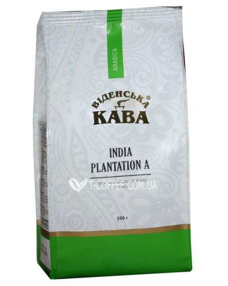 Кофе Віденська Кава Арабика Индия Плантейшн А зерновой 250 г (4820000371193)