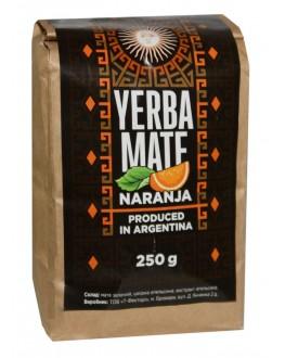 Мате Yerba Mate Naranja Апельсин етнічний чай 250 г к/п
