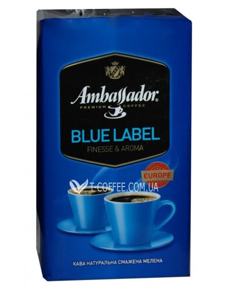 Кофе Ambassador Blue Label молотый 450 г (8719325127423)