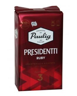 Кава PAULIG Presidentti Ruby мелена 500 г (6411300176724)