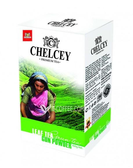 Чай CHELCEY Gun Powder Ганпаудер 100 г к/п