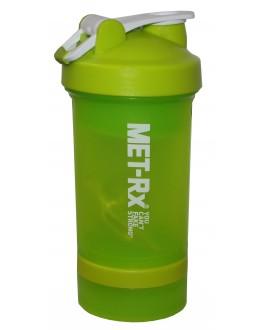 Бутылка-шейкер MET-RX салатовая 450 мл