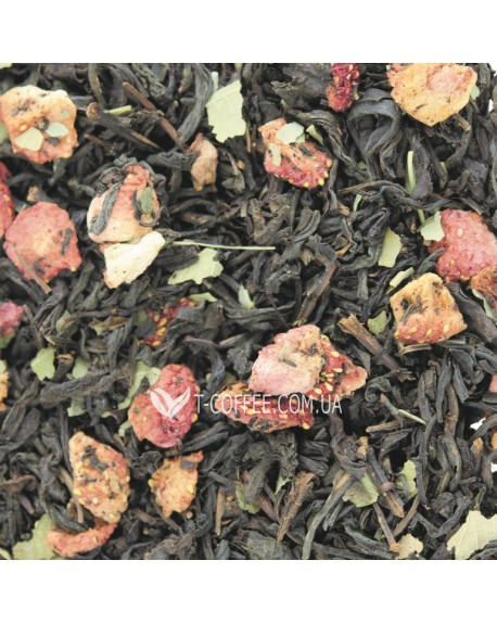 Лесная Нимфа черный ароматизированный чай Світ чаю