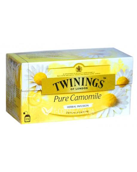 Чай TWININGS Pure Camomile Ромашка 25 х 2 г