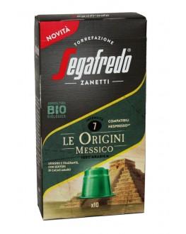 Кофе SEGAFREDO Nespresso Le Origini Messico в капсулах 10 х 5,1 г (8003410248545)