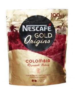 Кофе NESCAFE Gold Origins Colombia растворимый 100 г эконом. пак. (7613038803135)